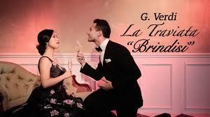 Libiamo ne' lieti calici-Traviata-Verdi