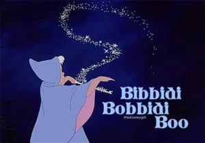 bibbidi bobbidi boo